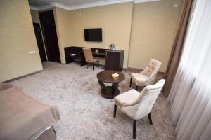 A seating area at Laguna Hotel