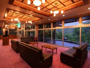 The lobby or reception area at Hotel Chi no Hate