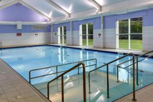 The swimming pool at or near Best Western Balgeddie House Hotel
