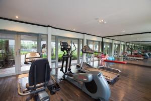 The fitness center and/or fitness facilities at The Raweekanlaya Bangkok