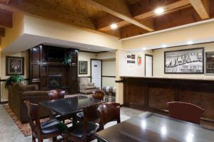The lobby or reception area at Super 8 by Wyndham Sallisaw