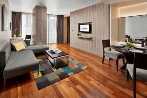 A seating area at Fraser Suites Sukhumvit - Bangkok