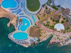 A bird's-eye view of Ramla Bay Resort
