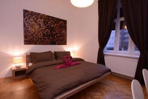 Кровать или кровати в номере Ginger Rooms