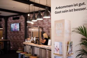 The lobby or reception area at JUFA Hotel Fürstenfeld