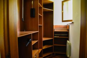 """A television and/or entertainment center at """"European"""" backpackers hostel in Almaty"""