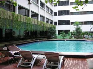 The swimming pool at or near Asia Hotel Bangkok