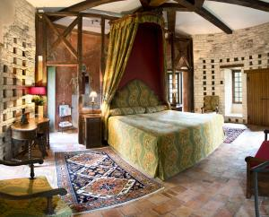 Un ou plusieurs lits dans un hébergement de l'établissement Château de Brou