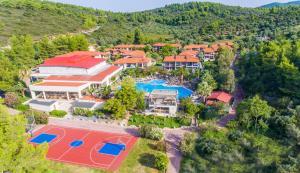 A bird's-eye view of Poseidon Resort Hotel