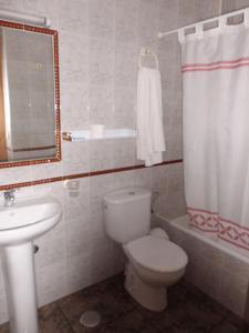Un baño de Hostal El Mirador
