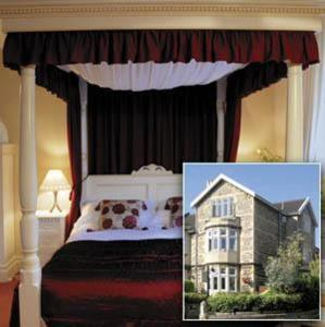 A bed or beds in a room at The Bath House Boutique B&B - IN-ROOM Breakfast - FREE parking