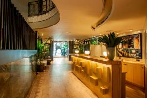 The lobby or reception area at Chic & Basic Velvet
