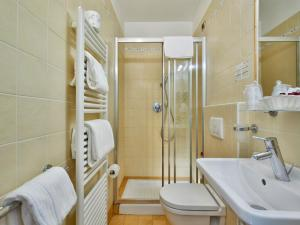 A bathroom at Hotel Centrale
