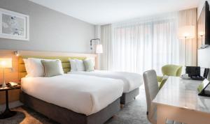 Cama ou camas em um quarto em The Morgan Hotel