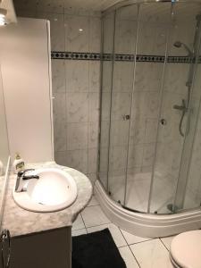 Een badkamer bij Apartment Seastar Zandvoort