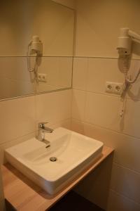 Ein Badezimmer in der Unterkunft Der Schildbacherhof