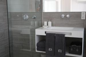 Salle de bains dans l'établissement Carpe Diem Cadaqués