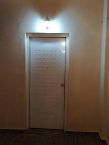 A bathroom at Port's little gem