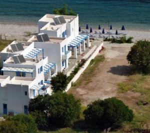 A bird's-eye view of Dream Island Hotel