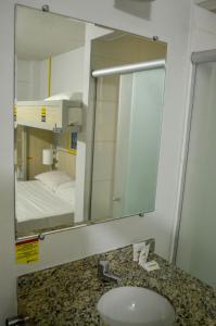A bathroom at EXPRESSO R1 HOTEL