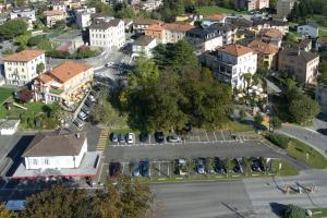 Albergo Hotel Tesserete с высоты птичьего полета