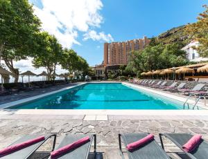 The swimming pool at or near Dom Pedro Madeira