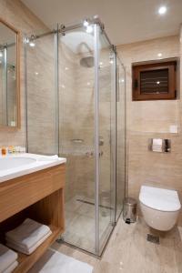 Ванная комната в Hotel Villa Gracia