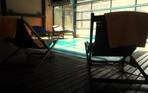 The swimming pool at or near Hotel Chalet Bassibe by Silken