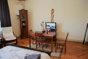A television and/or entertainment center at Studio Brasov