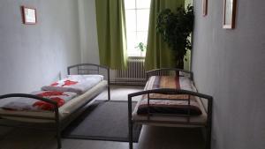 Cama o camas de una habitación en Casa Mario