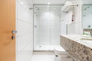 Um banheiro em Hotel Laghetto Stilo Higienópolis
