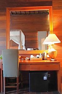 A kitchen or kitchenette at Lebak Bali Residence