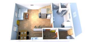 Plán poschodí v ubytovaní VISIT TELGART   CHATA