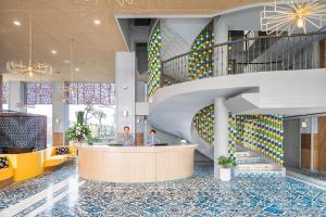 The lobby or reception area at Eastin Ashta Resort Canggu