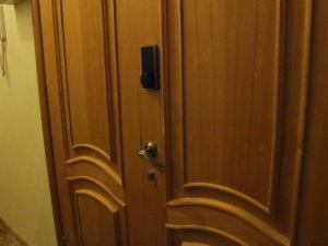 Ванная комната в Apartment on Suvorovsky Prospect