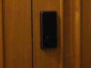 Телевизор и/или развлекательный центр в Apartment on Suvorovsky Prospect