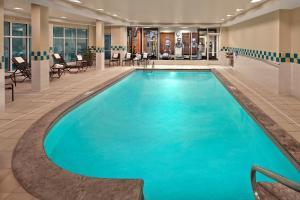 The swimming pool at or near Hilton Garden Inn Danbury