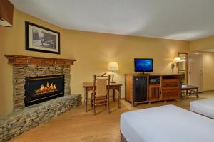 A television and/or entertainment center at Old Creek Lodge