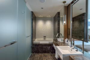 A bathroom at Loden Vancouver