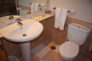 Un baño de Hostal Macami