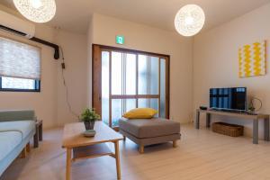 Tino Tamatsukuri Houseにあるシーティングエリア