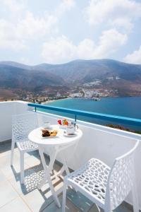 Balcon ou terrasse dans l'établissement Aegialis Hotel & Spa
