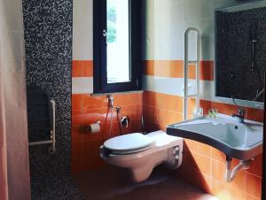 A bathroom at Hotel '904