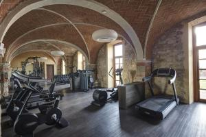The fitness centre and/or fitness facilities at Castello di Casole, A Belmond Hotel, Tuscany