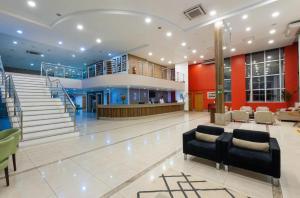 El vestíbulo o zona de recepción de Blue Tree Premium Manaus