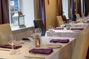 A restaurant or other place to eat at Best Western Chorley West Park Hall Hotel