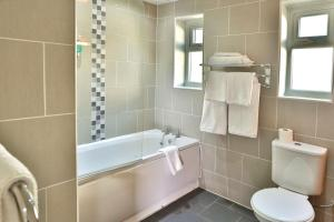 A bathroom at Best Western Chorley West Park Hall Hotel