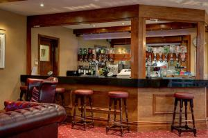 The lounge or bar area at Best Western Bury Ramsbottom Old Mill Hotel and Leisure Club
