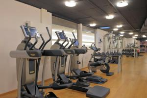 The fitness center and/or fitness facilities at Radisson Blu, Basel