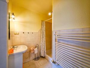 Ein Badezimmer in der Unterkunft Pension Haus Friederike